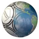 Awesome Soccer World 2010 logo