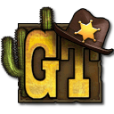 Golden Trails: The New Western Rush logo