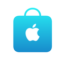 Logo for Apple Store