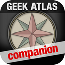 The Geek Atlas Companion logo