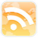 Google Reader Snow Leopard logo