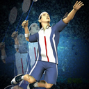 Super Badminton 2010 logo