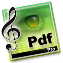 Logo for PDFtoMusic Pro
