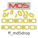 Logo for ff_md5drop