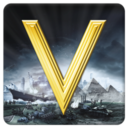 Logo for Civilization V