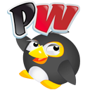 Logo for Pengu Wars
