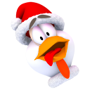 Logo for Chicken Invaders 3 Christmas Edition