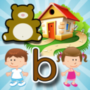 Logo for Tiki Bear Phonics - Consonant Sounds