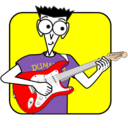 Rock Guitar for Dummies logo