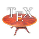 Logo for TeXTable