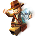 Logo for LEGO Indiana Jones 2