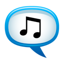 Logo for SpeakMyTunes