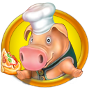 Logo for Farm Frenzy Pizza Party