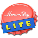 Logo for MenuPop Lite