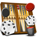 Logo for Backgammon Deluxe Free!