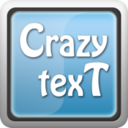 Logo for Crazy Text