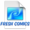 Fresh Comics Screensaver logo