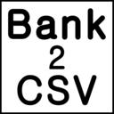 Bank2CSV icon