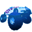 Monster Truck Hero HD logo