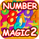 123 Number Magic Line Matching logo