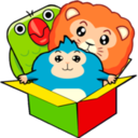 Logo for The Loonimals Toy Box