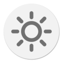 Brightness menu bar logo