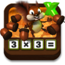 Multiplying Acorns - Tasty Math Facts logo