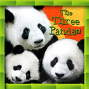 Logo for The Three Pandas Animated Storybook