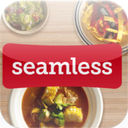 Seamless Food Delivery and Takeout for iPad logo