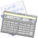 Calculator + logo