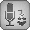 Logo for DropVox - Record Voice Memos to Dropbox
