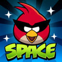 Logo for Angry Birds Space