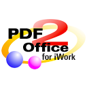 Logo for PDF2Office for iWork 2017