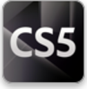 Learn CS5 Widget logo