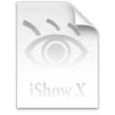 Logo for iShow X