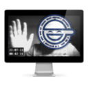 Laughing Man Saver logo