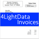4LightData Invoices logo