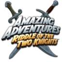 Logo for Amazing Adventures: Riddle of Two Knights