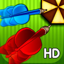 Crazy Dart Shooter HD logo