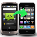 Backuptrans Android SMS to iPhone Transfer logo
