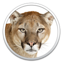 Logo for Apple OS X Mountain Lion Updater
