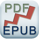 PDF to EPUB logo