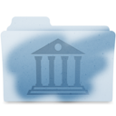 Reveal Library Folder logo