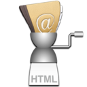 Address Book to HTML logo