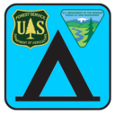 USFS and BLM Campgrounds logo