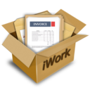 Package for iWork logo