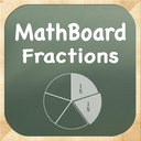 MathBoard Fractions logo