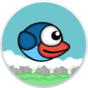 Logo for Flappy Blue Bird