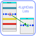 4LightData Lists logo