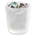 OS X Yosemite Trash Icon logo